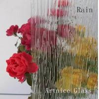 Buy 3mm to 8mm Rain Patterned Glass, Rolled Glass, Figured Glass with Certificate at wholesale prices