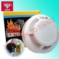 China Fire alarm system photoelectric portable smoke detector 9V battery on sale