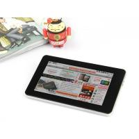 Quality Internal GPS navigation 7 inch Android Tablet with big volume battery supports WCDMA and GSM for sale