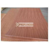 Quality Sapele Face Poplar Core Plywood for Forniture and Construction/2mm-30mm/few splinter after cutting for sale