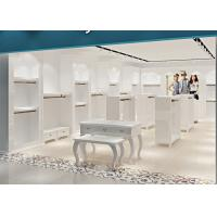 Quality Attractive Clothing Display Case Fashion Kids Clothing Boutique Interior Design for sale