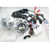 Quality Universal 2.8'' Double Angel Eye Projector Headlight Lens H1 9005 35 Watt for sale