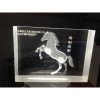 Quality Acrylic 3D laser inner carve for sale