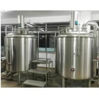 Quality 1000Ltr SUS304 Customised Draft Beer Brewing Equipment 15M2 Floor Space for sale