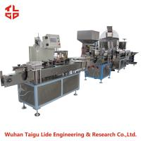 Quality Automatic Aerosol Filling Machine Production Line For Snow Spray / Party String for sale