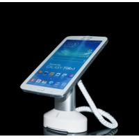 Quality COMER anti theft check-out counter display Pad stand for retail stores with telephone alarm sensor cable for sale