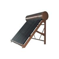 Quality Color Steel Domestic Pressurized Heat Pipe Solar Hot Water System for sale