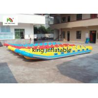 Quality 16 People PVC Tarpaulin Inflatable Fly Fishing Boats Giant  With Double Reinforces for sale