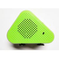 Quality Green 5W * 2 Portable Bluetooth Wireless Speakers Micro USB ABS Fabric A2DP / AVRCP / TF for sale