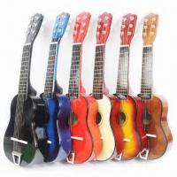 Quality Toy Musical Instrument, 21-inch Toy Guitar, Nice Christmas Gift for Children, Different Colors for sale