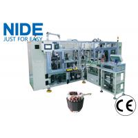Quality Conveyor type automatic stator coil lacing machine  with Four station for sale