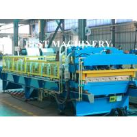 Buy cheap Color Coat Metal Glazied Roof Tile Roll Forming Machine 4m/min - 6m/min Speed from wholesalers