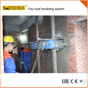 China Cement Wall Gypsum Plastering Machine / Lime Plaster Machine on sale