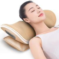 Quality Electric Shiatsu Massage Pillow Accelerate Blood Circulation Relieve Fatigue for sale