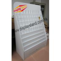 Buy white Cardboard Floor Display Stands / Fashion Store Displays at wholesale prices