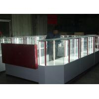 Quality Pre - Assembled Structure Cell Phone Accessories Kiosk / Store Display Fixtures for sale