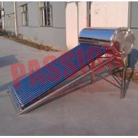 Quality 150L Vacuum Tube Solar Water Heater Non Pressurized With Special Absorptive Coating for sale