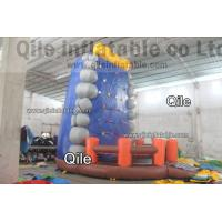Quality Gaint Red Inflatable Rock Climbing Mountain , Inflatable Amusement Park for sale