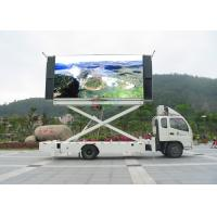 Quality Full Color 2000HZ 1 / 8 Scan Truck Mounted LED Display Signs 1R1G1B High Definition for sale