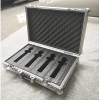 4 Pieces in 1 Microphone Flight Case and Tool Case Double-Box Aluminum Tool Box