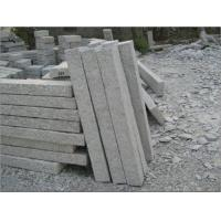 Quality Grey Granite palisade surface finished pineapple, Grey Kerbstones for sale