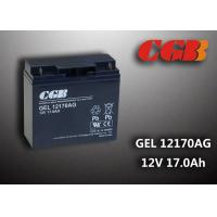 Quality GEL12170AG GEL Technical rechargeable lead acid battery 12vdc 17ah For Solar System for sale