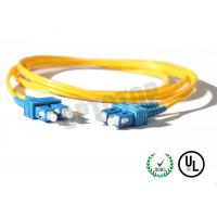 Quality 2.5m Single Mode Fiber Optic Patch Cord 2mm For LANs / Telecom , REACH Listed SC for sale