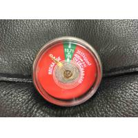 Quality Easy Use Small Fire Extinguisher Parts , JQ0802 Pressure Gauge For Fire Extinguisher for sale