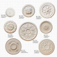 China Ceiling Centre Decoration Plaster Of Paris Ceiling Medallions on sale