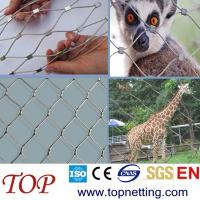 Quality SS security cable mesh/zoo mesh/wire mesh fence for sale