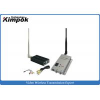 Quality 1.2Ghz Long Range Video Transmitter 2500Mw Wireless Video Sender with High RF Power for sale