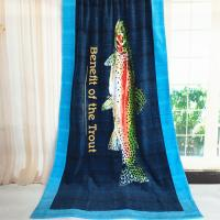 Quality Woven Trout Male Massive Beach Towels Mat Extra Large Beach Sheets for sale