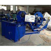 Quality Galvanized Steel Spiral Tube Forming Machine Auto Feeding Forming Lubrication Cutting for sale