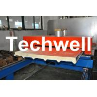 Quality PU Insulated Cold Roll Forming Machine For Making Sandwich Panels for sale