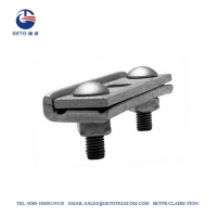 Quality SSC 8KN 6.35mm Straight 3 Bolt Suspension Clamp for sale