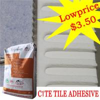 Buy cheap Heat Proof Exterior Tile Cement Based Adhesive For Swimming Pool , High Strength from wholesalers