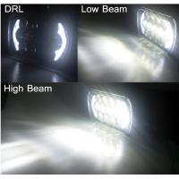 Buy Jeep Wrangler 85w Cree 7 Inch Black Projector LED Headlights With DRL, High / Low beam at wholesale prices