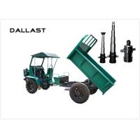 Quality Agricultural Tractor Welded Hydraulic Cylinders Double Acting Custom Color for sale