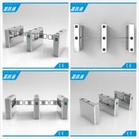 Quality Automatic Swing Barrier Gate With 24V Direct Current Brush Motor Used In Bus Station for sale