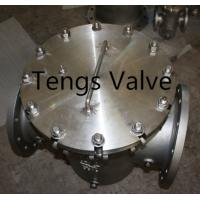 Quality Quick Opening Strainer, Davit Cover Flanged Industrial Basket Strainer, Steel pipeline Filter for sale