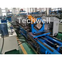 Quality 0-15m/Min Forming Speed Hat Channel Cold Forming Machine For Raw Material GI , Carbon Steel for sale