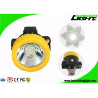 Quality Portable Cordless LED Mining Light Rechargeable Headlamp 2.2Ah Lithium Ion Battery for sale