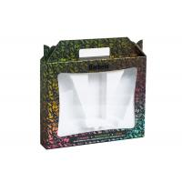 Buy Embossing Women Cosmetic Gift Box ,  High End Makeup Sample Box Eco Friendly at wholesale prices