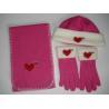 Buy cheap Polar Fleece 3 PCS Set (Glove, Hat, Scarf) Lyghs03 from wholesalers
