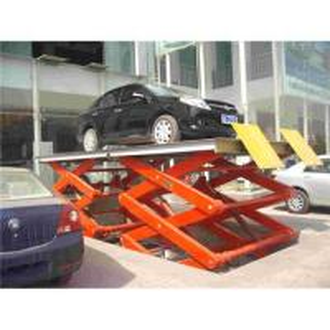 stationary hydraulic scissor lift table