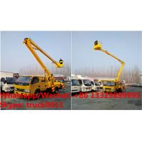 Quality International Standard High Attitude Working Truck 18 to 22 meter High lifting platform truck, overhead working truck for sale