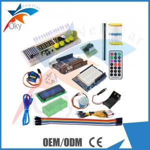 Quality UNO R3 /1602 LCD Servo Motor Dot Matrix Breadboard LED starter kit for Arduino for sale