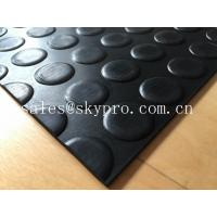 Quality Heavy duty Flooring / gasket 2.5mm - 20mm Rubber Sheet Roll Smooth / embossed Surface for sale