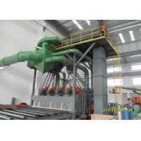 Quality Cleaning Auto Shot Blasting Machine , Scaffold Steel Plate Cleaning Machine for sale