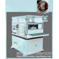 China Automatic winding machine for two pole stator with insulation paper or Plastic end plate on sale